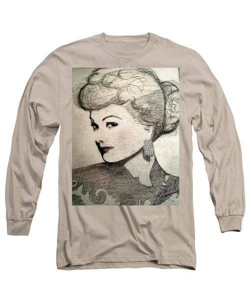 Lucille Ball Long Sleeve T-Shirt