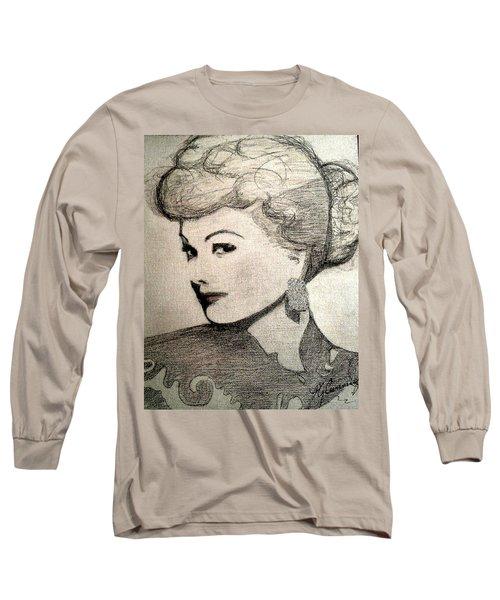 Lucille Ball Long Sleeve T-Shirt