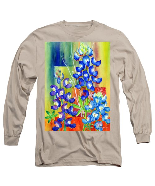 Lupinus Texensis Long Sleeve T-Shirt