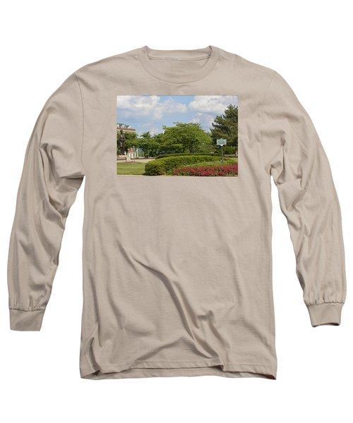 Lytle Park Cincinnati Long Sleeve T-Shirt by Kathy Barney