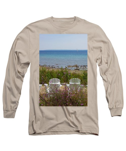 Mackinac View Long Sleeve T-Shirt