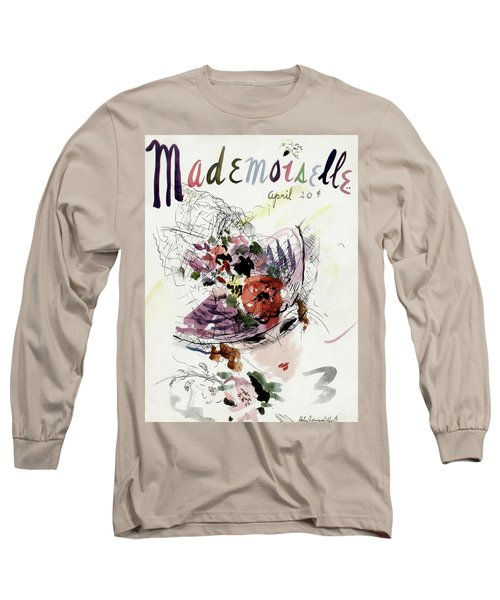 Mademoiselle Cover Featuring An Illustration Long Sleeve T-Shirt