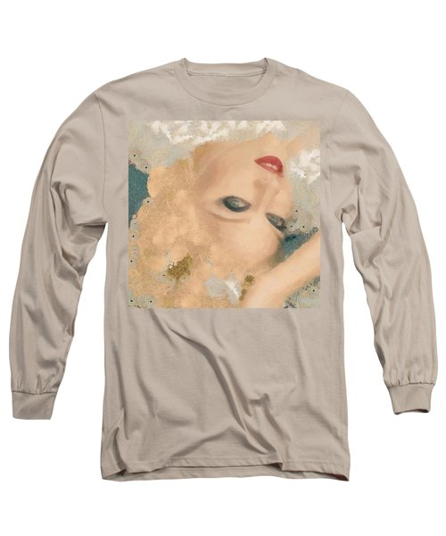 Madonna Wow Long Sleeve T-Shirt by Catherine Lott