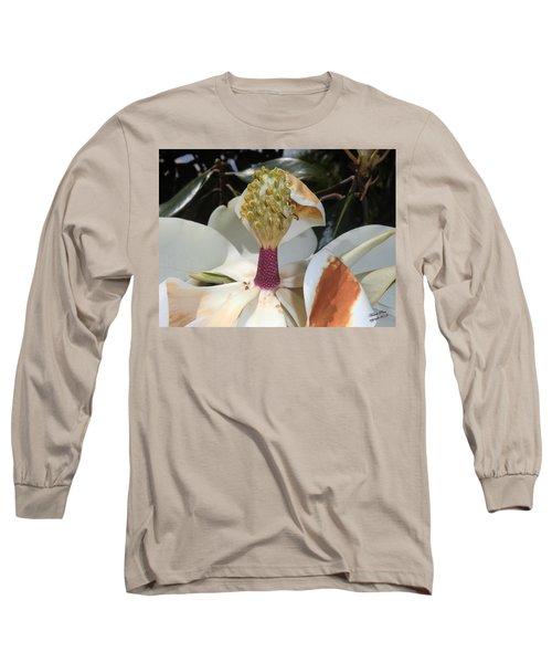 Magnolia Magnicence  Long Sleeve T-Shirt
