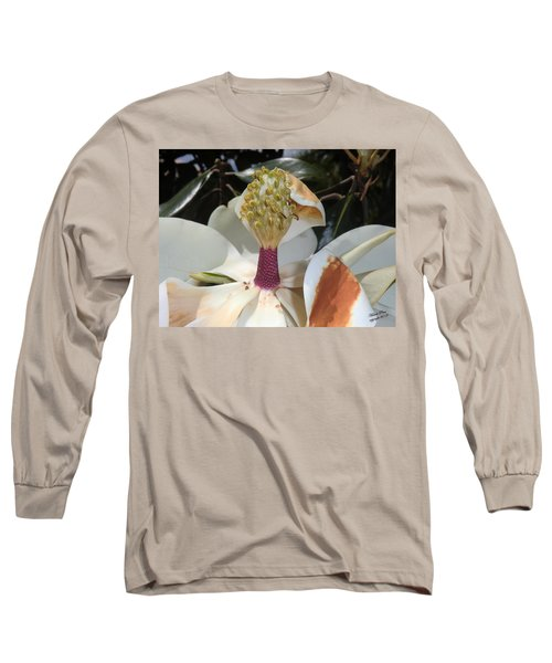 Magnolia Magnicence  Long Sleeve T-Shirt