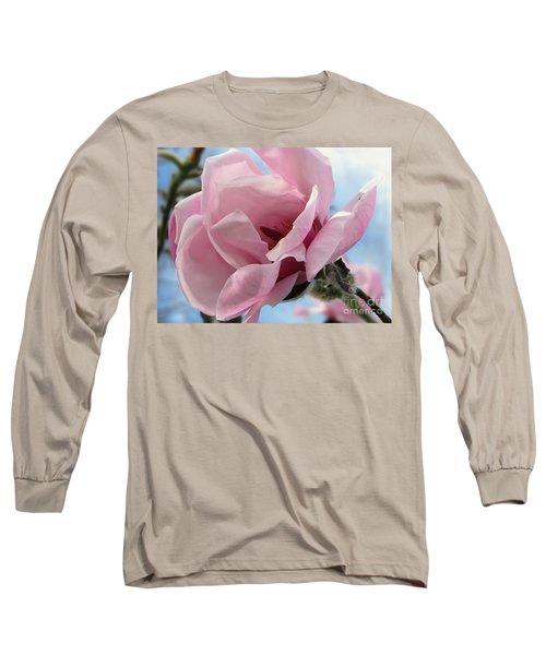 Magnolia In Spring Long Sleeve T-Shirt