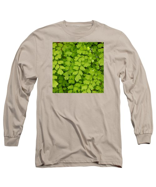 Maidenhair Fern Long Sleeve T-Shirt by Art Block Collections