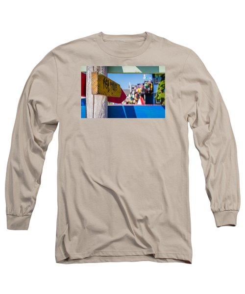 Maine Lobster Long Sleeve T-Shirt