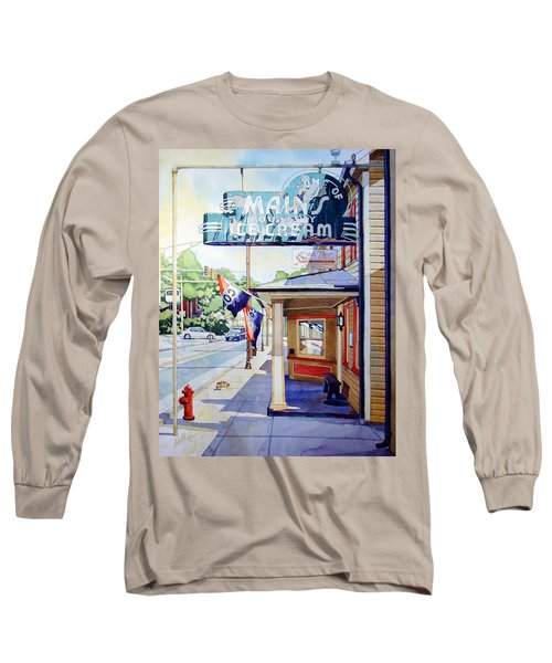 Main's Ice Cream Long Sleeve T-Shirt