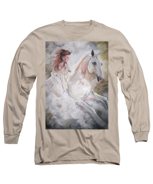 Majestic Flow Long Sleeve T-Shirt