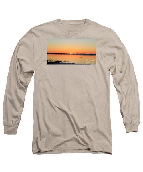 Mallards At Sunrise Long Sleeve T-Shirt