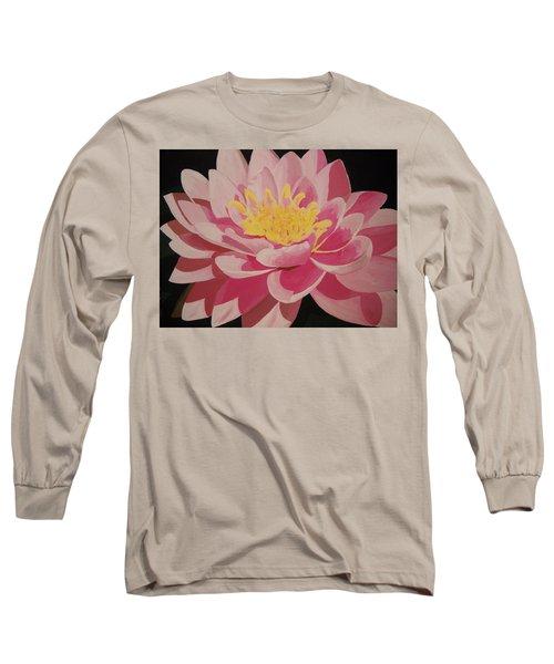Mama's Lovely Lotus Long Sleeve T-Shirt