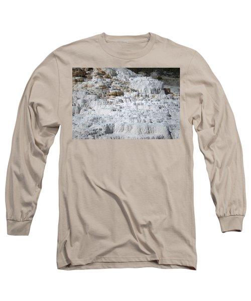 Mammoth Hotsprings 3 Long Sleeve T-Shirt