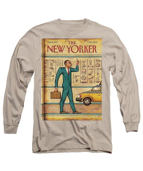 Tuts Taxi Long Sleeve T-Shirt