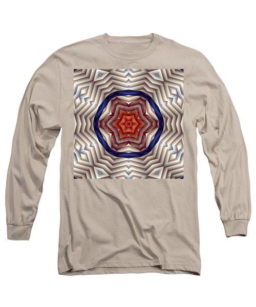 Long Sleeve T-Shirt featuring the digital art Mandala 12 by Terry Reynoldson