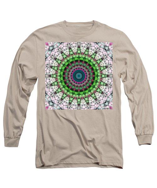 Long Sleeve T-Shirt featuring the digital art Mandala 26 by Terry Reynoldson