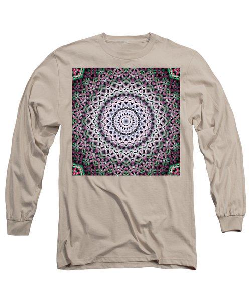 Long Sleeve T-Shirt featuring the digital art Mandala 38 by Terry Reynoldson