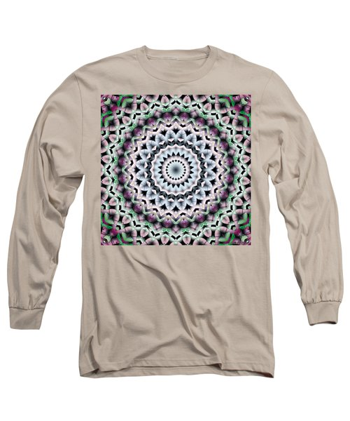 Long Sleeve T-Shirt featuring the digital art Mandala 40 by Terry Reynoldson