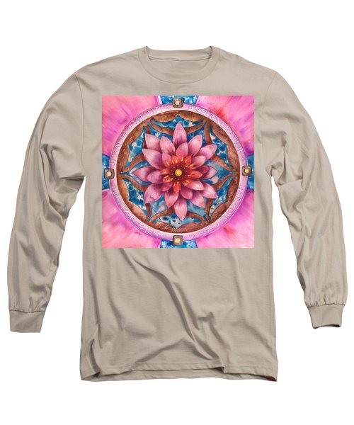 Mandala Of Health Long Sleeve T-Shirt