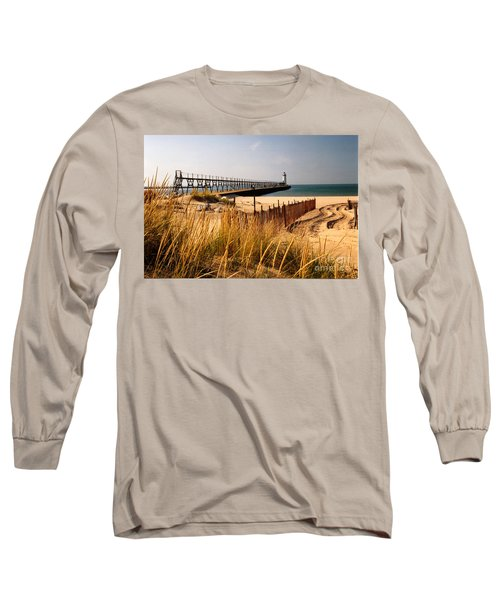 Manistee Lighthouse Long Sleeve T-Shirt