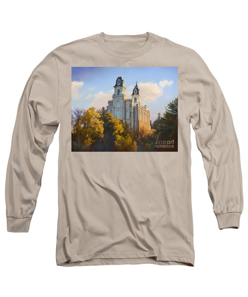 Manti Temple Long Sleeve T-Shirt