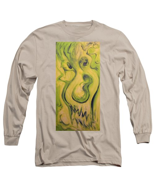 Many Faces Long Sleeve T-Shirt