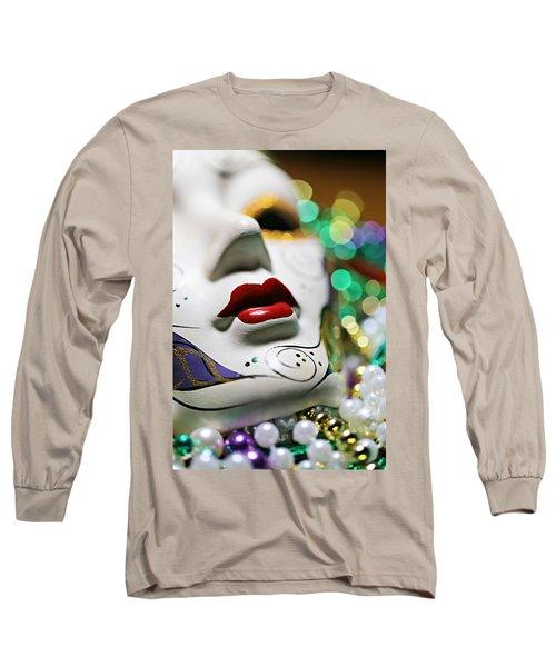 Mardi Gras II Long Sleeve T-Shirt by Trish Mistric