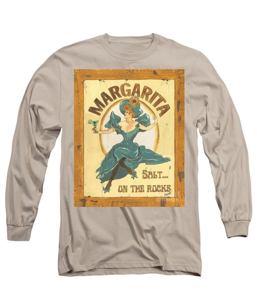 Margarita Salt On The Rocks Long Sleeve T-Shirt