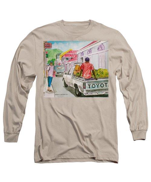 Marigot St. Martin Long Sleeve T-Shirt