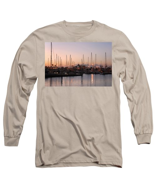Marina Sunrise 12 Long Sleeve T-Shirt