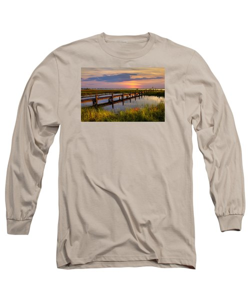 Marsh Harbor Long Sleeve T-Shirt