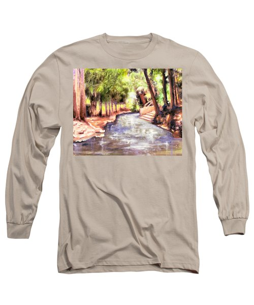 Mataranka Hot Springs Long Sleeve T-Shirt