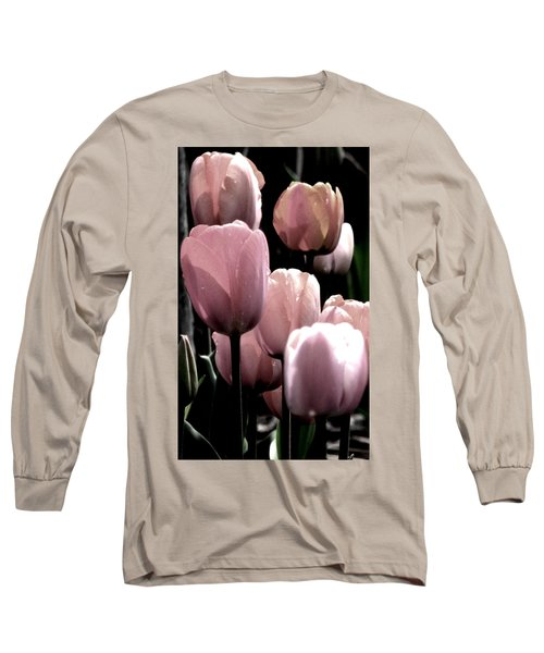 Mauve In The Morning Long Sleeve T-Shirt