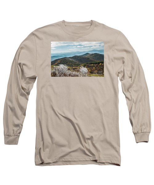 Long Sleeve T-Shirt featuring the photograph Max Patch In Appalachian Mountains by Debbie Green