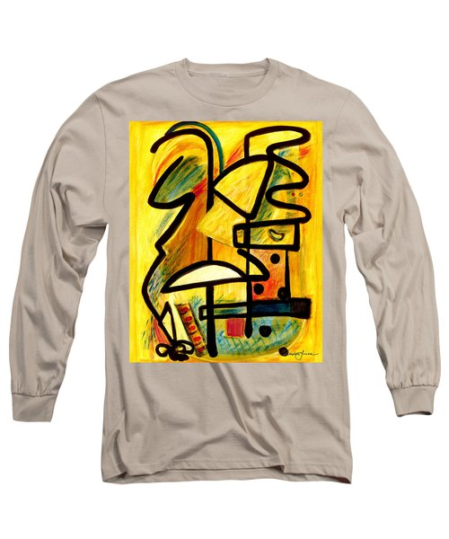 Mayan Long Sleeve T-Shirt by Stephen Lucas