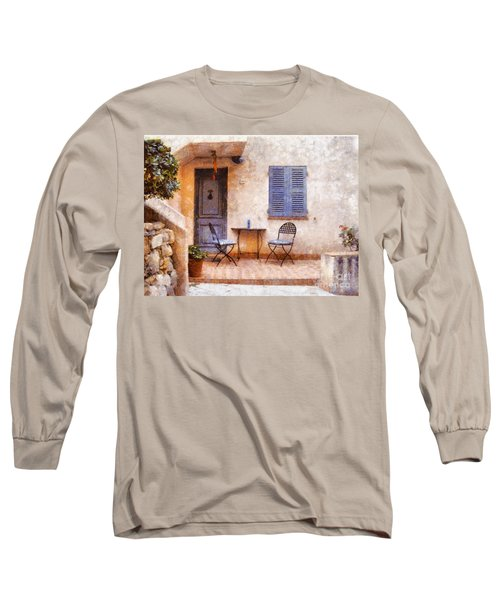 Mediterranean House Long Sleeve T-Shirt