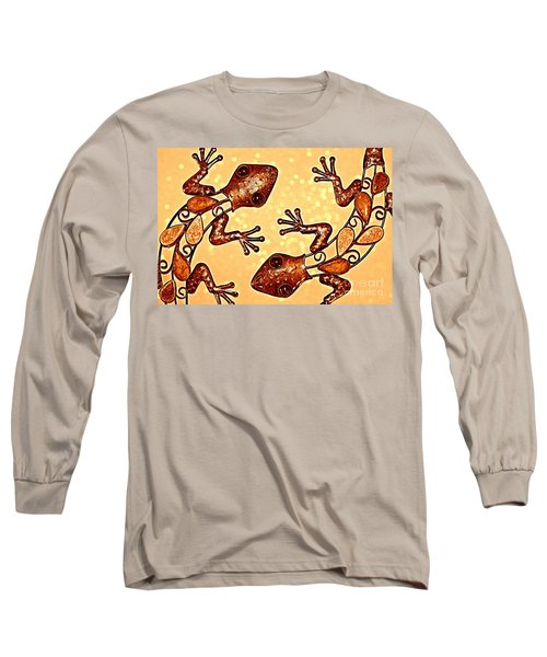 Meet The Geckos Long Sleeve T-Shirt