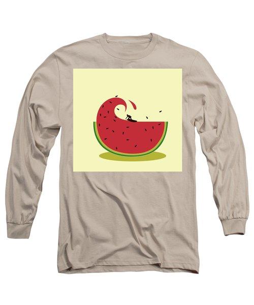 Melon Splash Long Sleeve T-Shirt