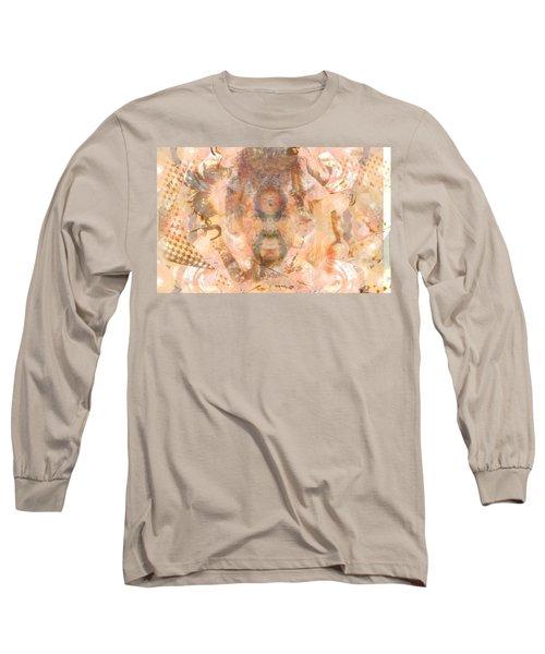 Melting Mer Tribe Long Sleeve T-Shirt by Deprise Brescia
