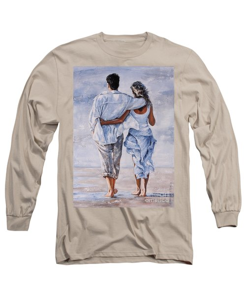 Memories Of Love Long Sleeve T-Shirt by Emerico Imre Toth