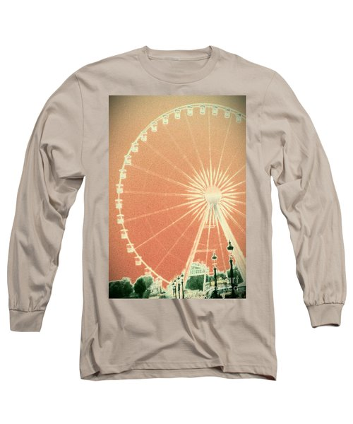 Memories Of Springtime In Paris Long Sleeve T-Shirt