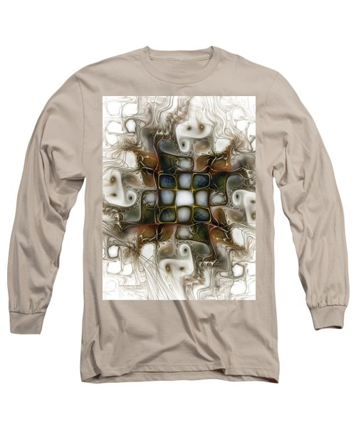 Memory Boxes-fractal Art Long Sleeve T-Shirt