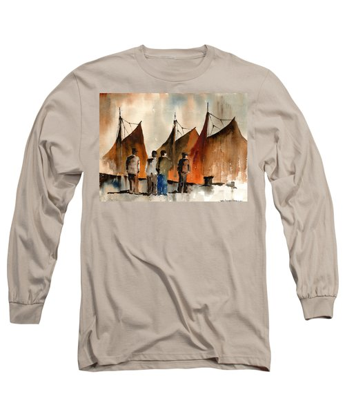 Men Looking At Hookers  Galway Long Sleeve T-Shirt