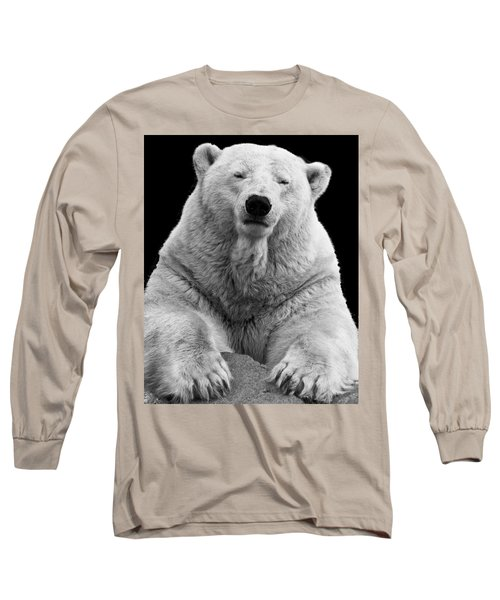 Mercedes The Polar Bear Long Sleeve T-Shirt