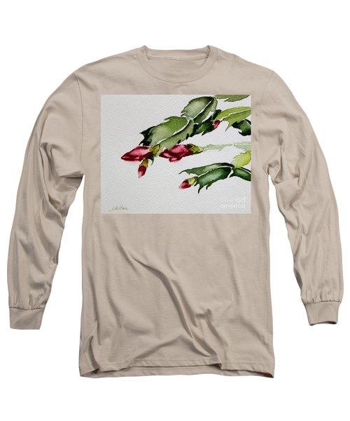 Merry Christmas Cactus 2013 Long Sleeve T-Shirt
