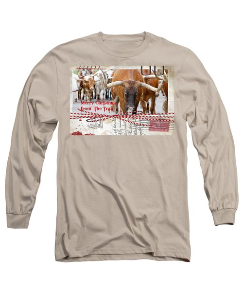 Merry Christmas From The Trail Long Sleeve T-Shirt
