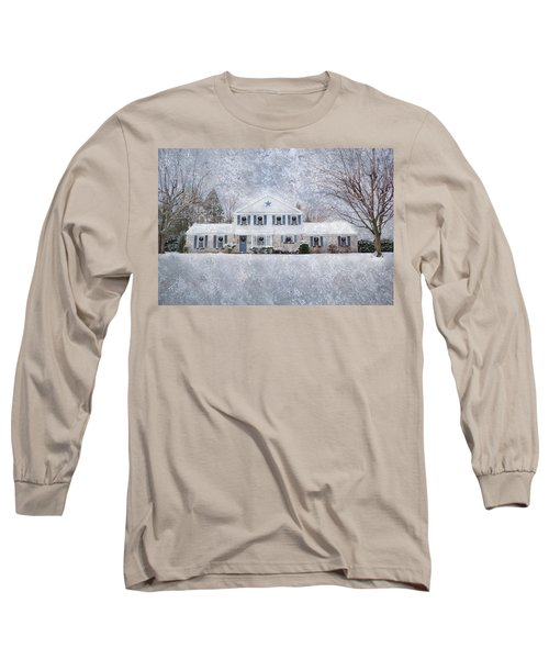 Wintry Holiday Long Sleeve T-Shirt
