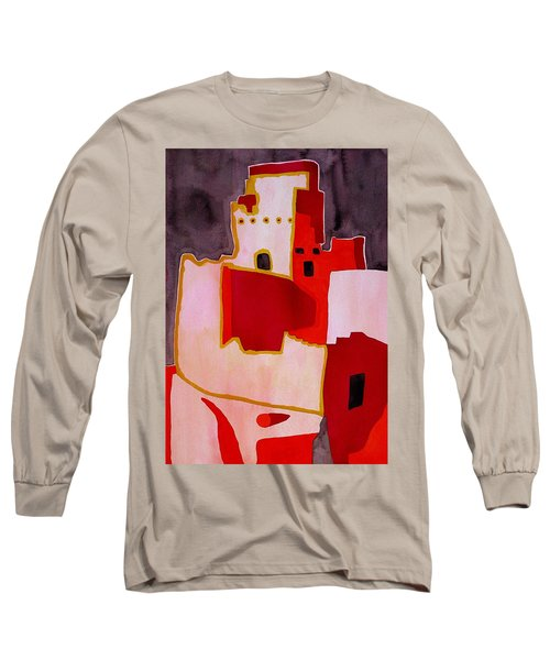 Mesa Verde Original Painting Sold Long Sleeve T-Shirt by Sol Luckman