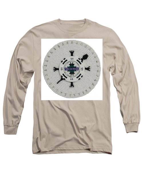 Meskwaki White Long Sleeve T-Shirt