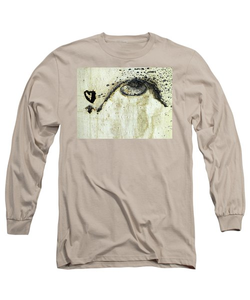 Long Sleeve T-Shirt featuring the photograph Message From An Aspen by Lanita Williams